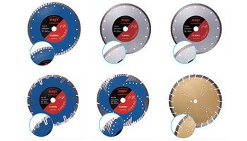 diamond saw blades  hot pressed manufactured